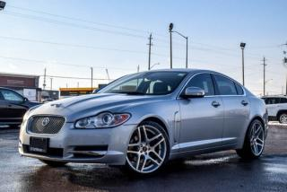 Used 2009 Jaguar XF Supercharged|Navi|Sunroof|Backup Camera|Bluetooth|Leather|Heat and Cold Seats|20