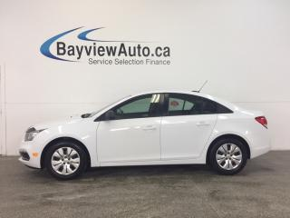 Used 2016 Chevrolet Cruze LTD- 6 SPEED! 1.8L! ON STAR! PWR GROUP! for sale in Belleville, ON