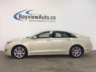 Used 2014 Lincoln MKZ - HYBRID|REM STRT|KEYPAD|HTD/AC LTHR|BLIS|SYNC! for sale in Belleville, ON