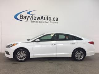 Used 2015 Hyundai Sonata - PUSH BTN STRT|HTD SEATS|REV CAM|BLUETOOTH|BSD! for sale in Belleville, ON