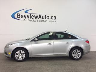 Used 2014 Chevrolet Cruze 1LT- TURBO|A/C|BLUETOOTH|ON STAR|CRUISE|LOW KM! for sale in Belleville, ON