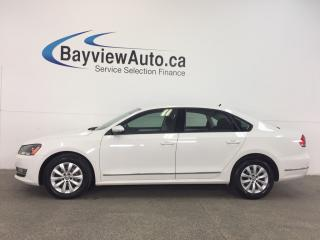 Used 2012 Volkswagen Passat TRENDLINE- TDI|ALLOYS|HTD STS|BLUETOOTH|CRUISE! for sale in Belleville, ON