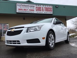 Used 2013 Chevrolet Cruze LS for sale in Bolton, ON