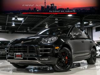 Used 2015 Porsche Macan TURBO|NAVI|REAR CAM|KEYLESS START|SPORT for sale in North York, ON
