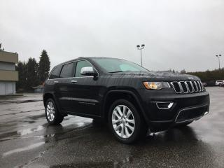 Used 2017 Jeep Grand Cherokee Limited 4x4 + SUNROOF + HEATED FT/RR SEATS + BACK-UP CAM + RR PARK ASSIST for sale in Surrey, BC