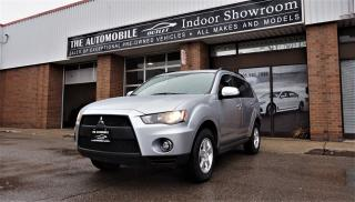 Used 2010 Mitsubishi Outlander AWD 7 PASSENGERS NO ACCIDENT for sale in Mississauga, ON