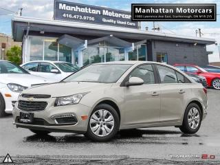 Used 2015 Chevrolet Cruze LT AUTO |BLUETOOTH|CAMERA|WARRANTY|48000KM for sale in Scarborough, ON