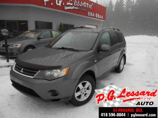 Used 2008 Mitsubishi Outlander LS V6 4 RM  7 places toit ouvrant for sale in Saint-prosper-de-dorchester, QC