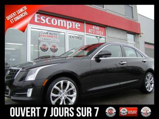 Used 2014 Cadillac ATS PERFORMANCE PKG AWD 2.0L NAVIGATION for sale in Mascouche, QC
