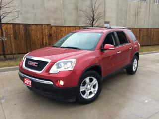 Used 2012 GMC Acadia AWD, 7 Passanger, Auto, 3/Y Warranty available for sale in North York, ON