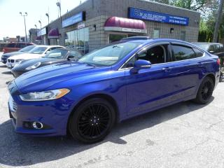 Used 2014 Ford Fusion SE * LEATHER * NAV * SUNROOF for sale in Windsor, ON