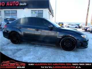 Used 2012 Subaru Impreza WRX STi STI SPORT-TECH NAVIGATION CERTIFIED 2YR WARRANTY for sale in Milton, ON
