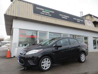 Used 2011 Ford Fiesta AUTOMATIC,LOW KM,A/C,ALL POWERED,SIRIUS for sale in Mississauga, ON