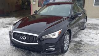 Used 2014 Infiniti Q50 TECH PACKAGE, NAVI for sale in Mirabel, QC