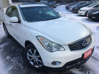Used 2008 Infiniti EX35 Auto / Leather / Sunroof / Back-up Camera / AWD for sale in Scarborough, ON