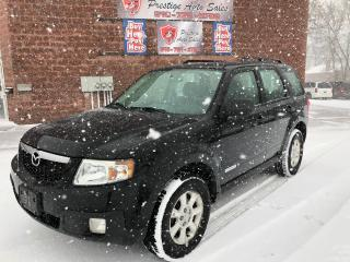 Used 2008 Mazda Tribute GX/2.5L/ONE OWNER/NO ACCIDENT/CERTIFIED/WARRANTY for sale in Cambridge, ON
