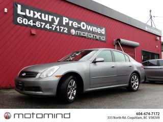 Used 2005 Infiniti G35X Luxury for sale in Coquitlam, BC