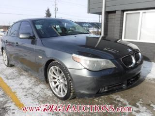 Used 2005 BMW 5 SERIES 545I 4D SEDAN for sale in Calgary, AB
