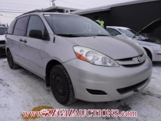 Used 2006 Toyota Sienna CE 4D WAGON for sale in Calgary, AB