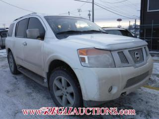 Used 2010 Nissan ARMADA PLATINUM EDITION 4D UTILITY for sale in Calgary, AB