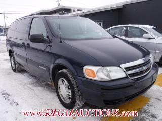 Used 2005 Chevrolet VENTURE  4D EXT WAGON for sale in Calgary, AB