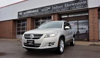 Used 2010 Volkswagen Tiguan AWD NAVI PANO BACK-UP BLUETOOTH NO ACCIDENT for sale in Mississauga, ON
