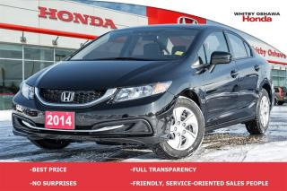Used 2014 Honda Civic LX | Automatic for sale in Whitby, ON