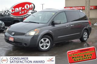 Used 2007 Nissan Quest 3.5 S HEATED SEATS DUAL CLIMATE ONLY $58 B/W O.A.C for sale in Ottawa, ON