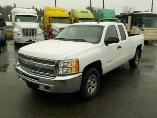 Used 2012 Chevrolet Silverado 1500 LS EXTENDED CAB 4WD for sale in Burnaby, BC