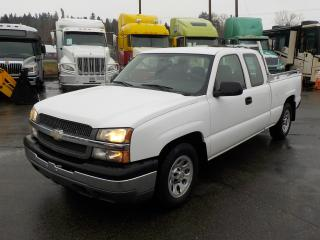 Used 2005 Chevrolet Silverado 1500 Work Truck Ext. Cab Short Bed 2WD for sale in Burnaby, BC
