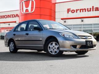 Used 2005 Honda Civic SNOW TIRES | AS IS! ONLY $4800 for sale in Scarborough, ON