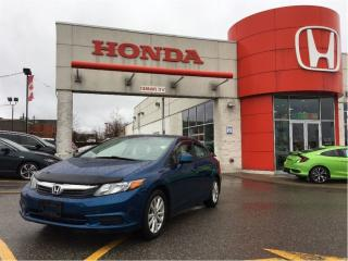 Used 2012 Honda Civic EX-L, leather interior, navigation for sale in Scarborough, ON