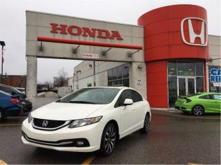 Used 2013 Honda Civic Touring, black leather, navi, great shape for sale in Scarborough, ON