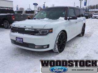 Used 2017 Ford Flex Limited - Leather Seats -  Heated Seats for sale in Woodstock, ON