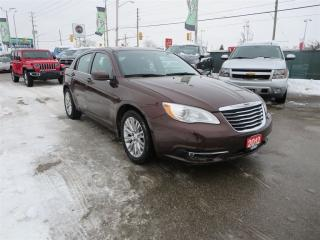 Used 2012 Chrysler 200 Touring - Heated Seats, Bluetooth, Remote Start for sale in London, ON