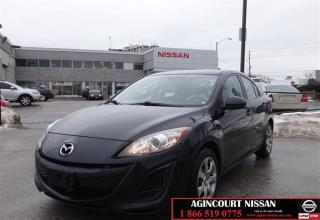 Used 2010 Mazda MAZDA3 GX at |AUX| 1 Owner| Certified| for sale in Scarborough, ON
