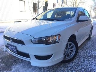 Used 2013 Mitsubishi Lancer SE-ALLOY RIMS-HEATER SEAT IN VERY NICE CONDITION for sale in Mississauga, ON