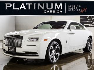 Used 2015 Rolls-Royce Wraith STARLIGHT ROOF, WRAITH PKG, RED LTHR, NIGHT VIS for sale in North York, ON