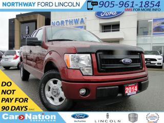 Used 2014 Ford F-150 STX | SUPERCAB | BED LINER | LOW KM | for sale in Brantford, ON
