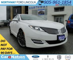 Used 2015 Lincoln MKZ | NAV | LOW KM'S | LEATHER | for sale in Brantford, ON