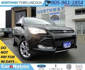 Used 2015 Ford Escape SE | NAV | 4X4 |  REAR CAMERA | TOUCH SCREEN | for sale in Brantford, ON