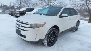 Used 2014 Ford Edge SEL AWD SPORT PACAKGE 3.5L V6 Moon, Leather for sale in Stratford, ON
