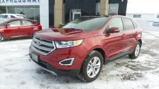 Used 2017 Ford Edge SEL AWD 385Hp Leather, Moon, Navi EXEC DEMO for sale in Stratford, ON