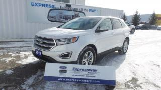 Used 2017 Ford Edge SEL AWD 3.5L 385Hp Leather, Moon, Navi for sale in Stratford, ON