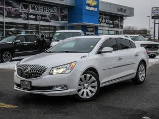 Used 2016 Buick LaCrosse PREIMUM II, AWD, NAV, ULTRA LUXURY PACKAGE *EVERY OPTION* for sale in Ottawa, ON