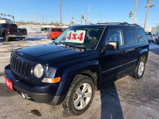 Used 2012 Jeep Patriot 4X4/ONE OWNER/NO ACCIDENT/CERTIFIED/WARRANTY INCL for sale in Cambridge, ON