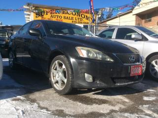 Used 2008 Lexus IS 250 AWD/Nav/Bk-up Cam/Heated&Cooled Leather Seats for sale in Scarborough, ON