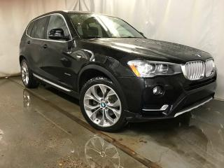 Used 2017 BMW X3 xDrive28i / GPS Navigation / Sunroof for sale in Edmonton, AB