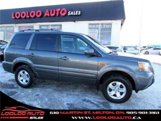Used 2008 Honda Pilot LX 4x4 8 PASSENGER Auto Certified 2 Years Warranty for sale in Milton, ON