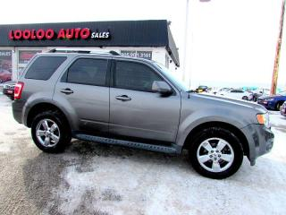 Used 2009 Ford Escape Limited 4x4 3.0L Leather Sunroof Certified 2YR War for sale in Milton, ON